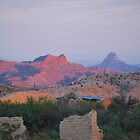 Terlingua Sunset by Cathy Jones