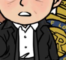 Cute Lestrade Sticker