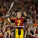 USC Trojans Quarterback Matt Barkley by art-hammer
