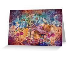 indie elephant Greeting Card