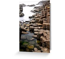 """Giant's Causeway"" Greeting Card"