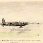 Vickers Wellington pencil sketch by ChrisNeal