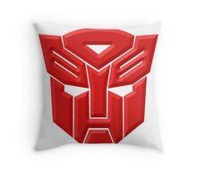 Autobot Throw Pillow