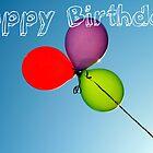 Happy Birthday Balloons by sarahgotts