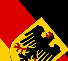 Smartphone Case -  State Flag of Germany - Diagonal  by Mark Podger