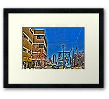 Saint Paul College HDR Framed Print