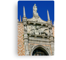 The Doges' Palace, Venice Canvas Print