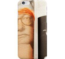Homage to Film Critic Roger Ebert iPhone Case/Skin