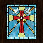 Stained Glass Window by Megan Noble