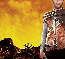 Clint Eastwood Spaghetti Western The Man With No Name by bobmick