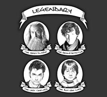 Gandalf, Sherlock, The Doctor and Harry by thegadzooks