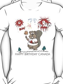 Happy Birthday Canada T-Shirt