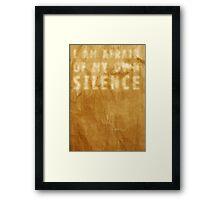 A Learned Wisdom Framed Print