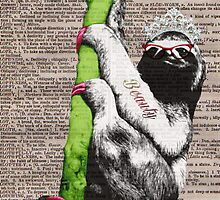 Slothful Sloth Beauty Queen by Gidget26