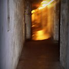 Battery Mishler like a corridor through time by Dawna Morton