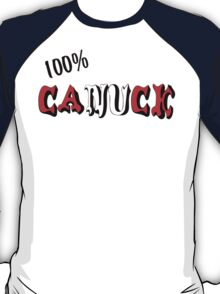Canadian 100% Canuck T-Shirt