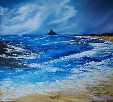 Storm to the East of the Skellig by Conor Murphy