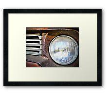 Tractor Light Framed Print