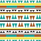 Aztec pattern 2 by kicsijahmeky