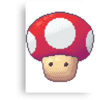 Red Mushroom Canvas Print