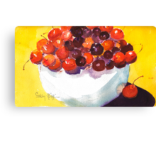 Rainier and Bings Canvas Print