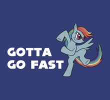 Rainbow Dash - Gotta Go Fast by Julia Sprenz