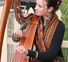 "Harpist - Marietta  #6827 (click on ""description"" below) by gaylene"