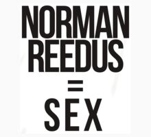 Fangirl Math: Reedus = Sex (sticker) by eltrk