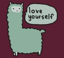 Love Yourself Alpaca by teecup