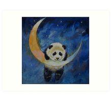 Panda Stars Art Print