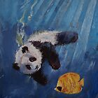 Panda Diver by Michael Creese