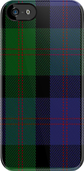 01688 Blair Clan/Family Tartan Fabric Print Iphone Case by Detnecs2013