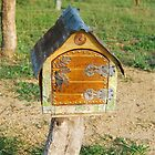Carved Mailbox # 4 by Penny Smith