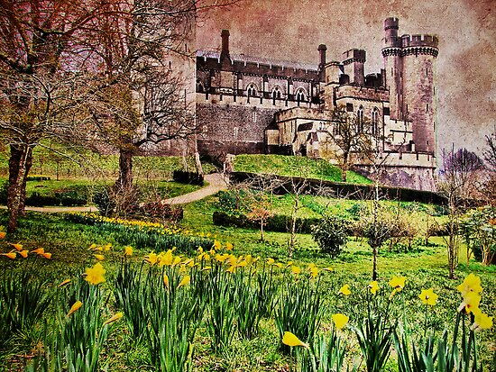 Spring At Arundel Castle - HDR by Colin J Williams Photography