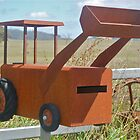 Little Brown Bulldozer Box by Penny Smith