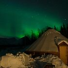 Green Skies Over Camp Tamok by Kristin Repsher