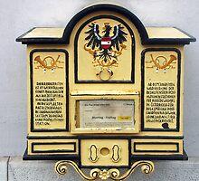 Old Austrian postbox by Arie Koene