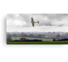 Eagle over England Canvas Print