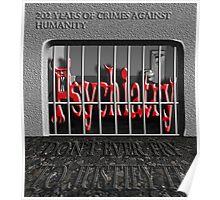 Psychiatry in jail! Poster