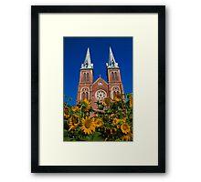 Vietnam. Ho Chi Minh City. Notre-Dame Basilica. Framed Print
