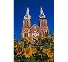 Vietnam. Ho Chi Minh City. Notre-Dame Basilica. Photographic Print