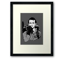Ghostbusters Peter Venkman Bill Murray illustration Framed Print