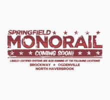 Springfield Monorail: Coming Soon! by newdamage