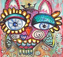 Cheer Owl by mazerdesign