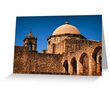 Reaching Up To Touch The Hand Of God Greeting Card