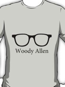 Woody Allen Minimalist Design T-Shirt
