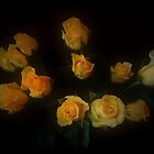 Yellow Roses by Mark.I.F. Jarvis