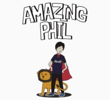 Amazing Phil the Superhero by rozle27