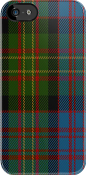 01722 Bowie (Lochcarron) Tartan Fabric Print Iphone Case by Detnecs2013