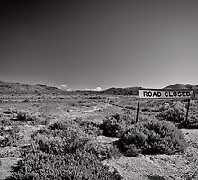 Bush Highway - South Australia by Norman Repacholi